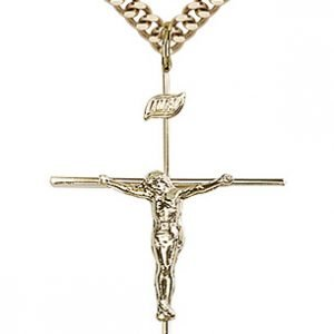 Gold Filled Crucifix Necklace #86808