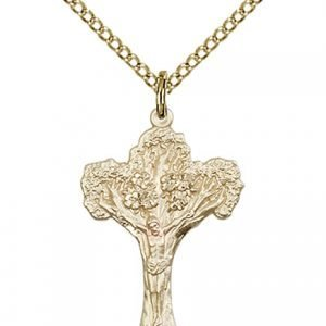 Crucifix Necklace - Gold Filled (#87109)