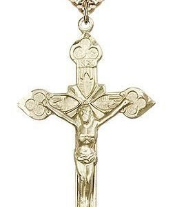 Gold Filled Crucifix Necklace #87113