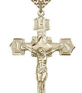 Gold Filled Crucifix Necklace #87117