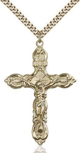 Gold Filled Crucifix Necklace #87157