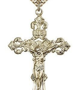 Gold Filled Crucifix Necklace #87161