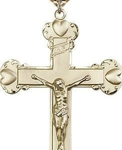 Gold Filled Crucifix Necklace #87225
