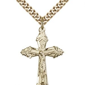 Gold Filled Crucifix Necklace #87245