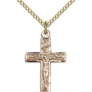 Gold Filled Crucifix Necklace #87281