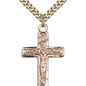 Crucifix Necklace - Gold Filled (#87289)