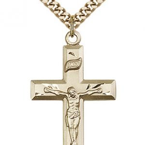 Gold Filled Crucifix Necklace #87448