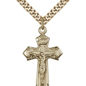 Gold Filled Crucifix Necklace #88127