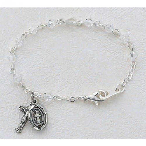 4mm Crystal Baby Bracelet