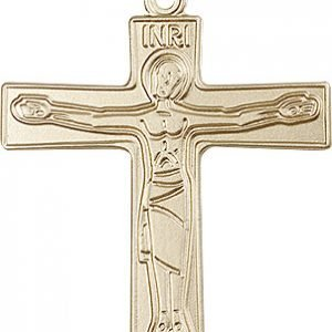 14kt Gold Cursillio Cross Medal #87650