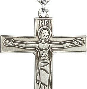 Sterling Silver Cursillio Cross Necklace #87651