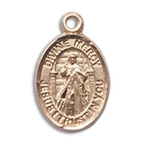 Double sided Divine Mercy/Faustina Charm