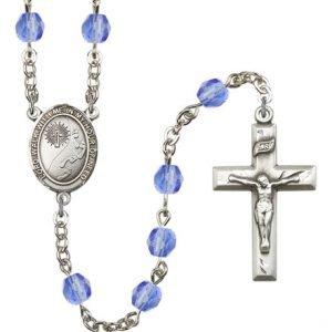 Footprints-Cross Rosary