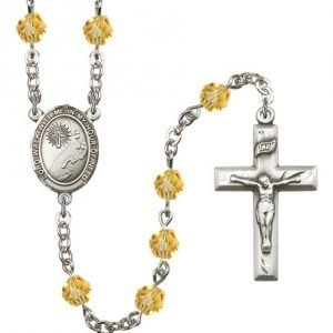 Footprints-Cross Rosary