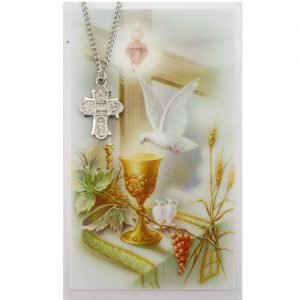 Four Way Medal Communion Pewter