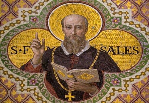 Saint Francis de Sales Mosaic