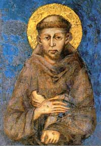 Icon of St Francis of Assisi