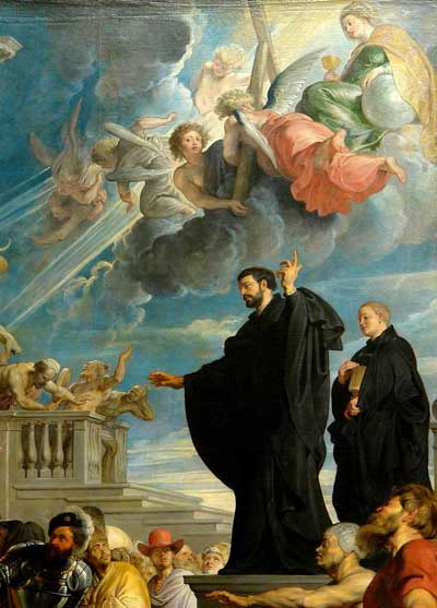 Painting of St. Francis Xavier