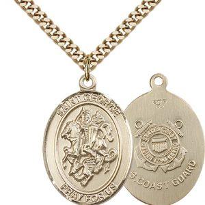 14kt Gold Filled St. George Pendant