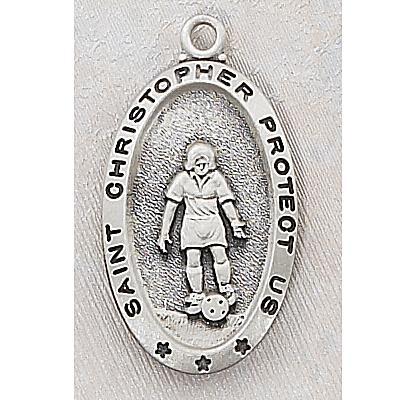 Girl's Soccer Medal 15159