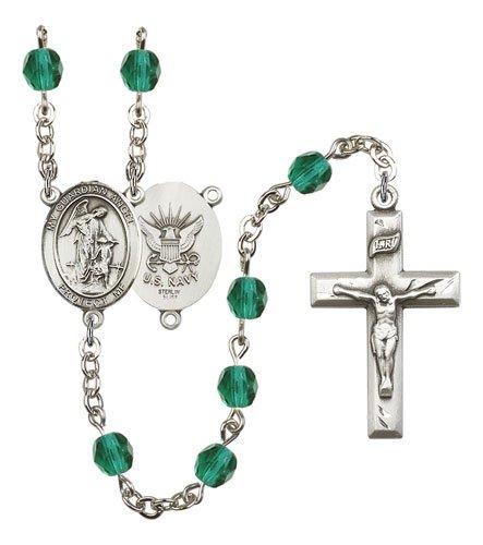 Guardian Angel-Navy Rosary