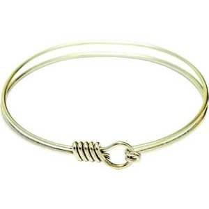 Hamilton Gold Oval Eye Hook with Twist Bracelet