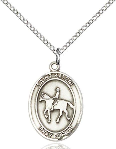 Horse Lover Medal St Kateri 19286