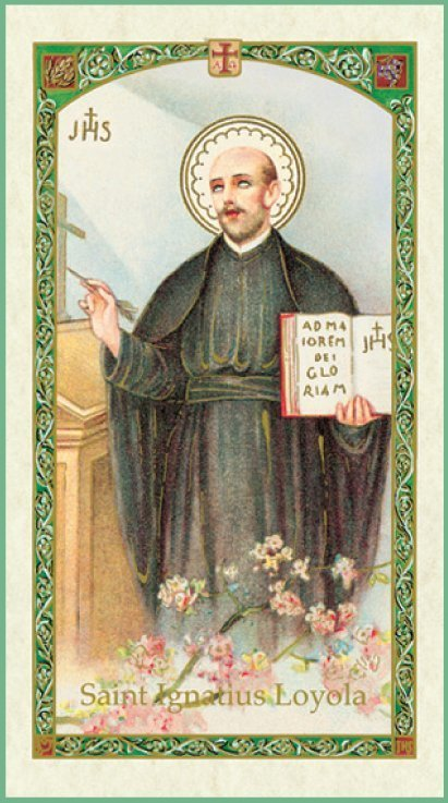 About St. Ignatius of Loyola - Patron Saint Article