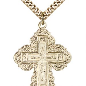 Gold Filled Irene Cross Necklace #86989