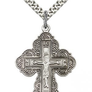Sterling Silver Irene Cross Necklace #86992
