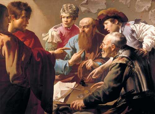 Jesus and Saint Matthew