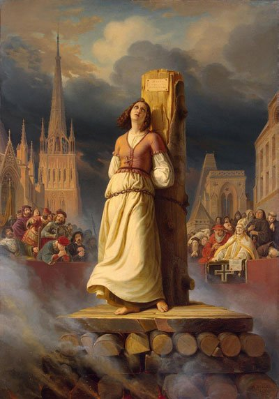 The Execution of St Joan of Arc