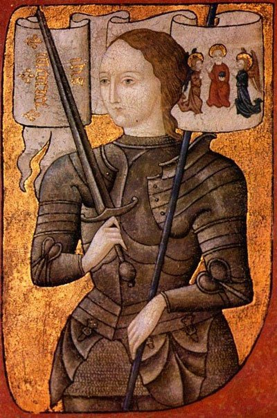 Icon of Saint Joan of Arc