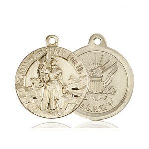 14kt Gold St. Joan of Arc Medal
