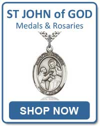 St John of God Medals and Rosaries