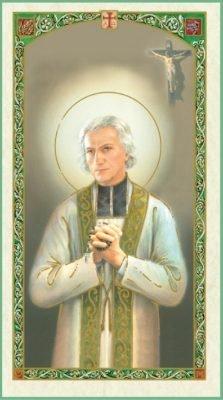 St. John Vianney Holy Card