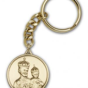 Antique Gold St Joseph Keychain