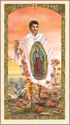 St. Juan Diego Holy Card