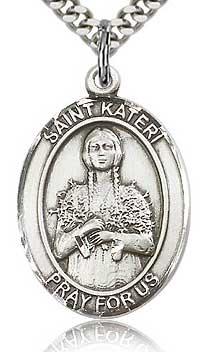 Religious Medal of St. Kateri Tekakwitha