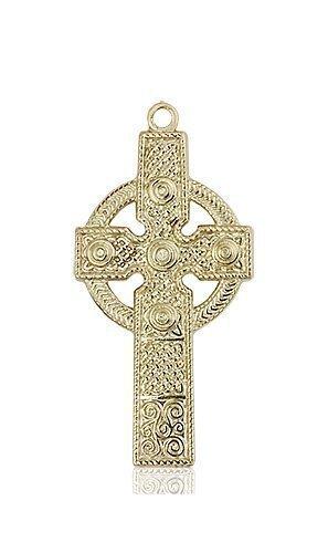 14kt Gold Kilklispeen Cross Medal #86923