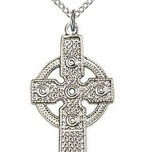 Sterling Silver Kilklispeen Cross Necklace #86924
