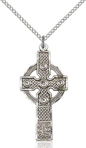 Sterling Silver Kilklispeen Cross Necklace #86940