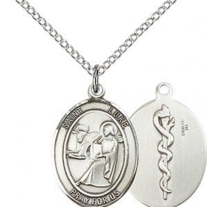 St Luke with Doctor Back Medal