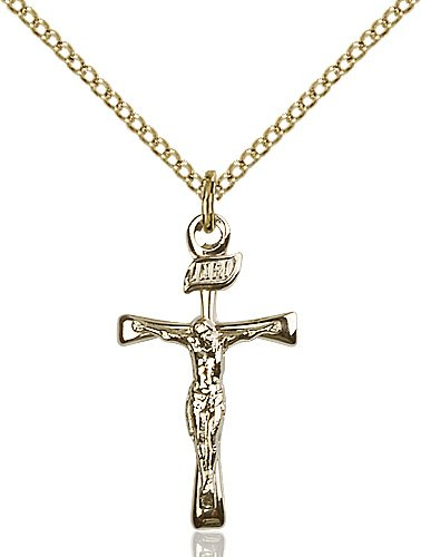 Gold Filled Maltese Crucifix Necklace #87436