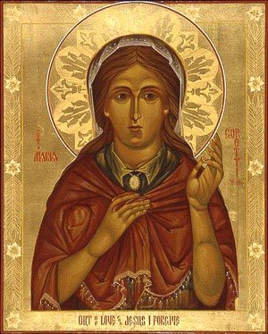 Icon of St Maria Goretti