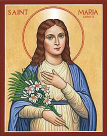 Icon of Maria Goretti