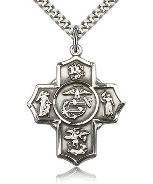 5 Way Marine Medal