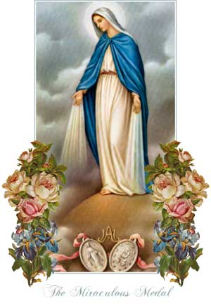 Image of Mary and the Miraculous Medal
