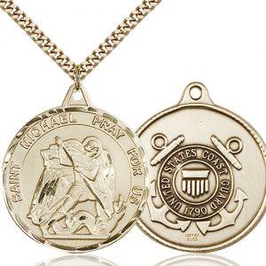 14kt Gold Filled St. Michael Pendant