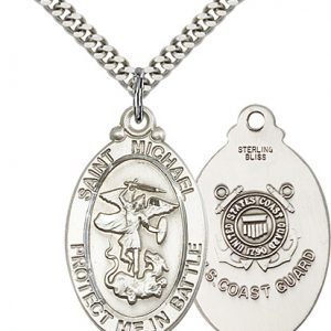 Sterling Silver St. Michael Pendant